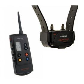 Koera kontrollimise süsteem kalliste profesionaalsete elektrooniliste kaelarihmade võimalustega.