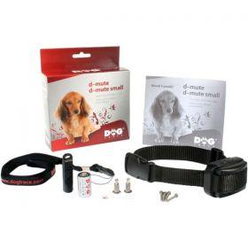 Haukumisvastane kaelarihm DOGtrace d-mute on ette nähtud madala tundlikusega suurte koeratõugude jaoks (võitluskoerad)
