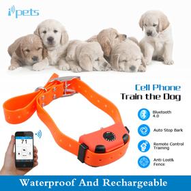 Контроль дистанции и определение места нахождения собаки (по  Bluetooth ).