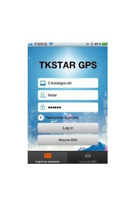 Android: vt. www.tkstargps.net või Google Play (tkstargps)